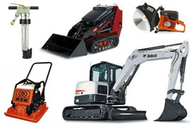 Equipment rentals in Parker Colorado, Sedalia CO, Larkspur, Franktown, Castle Rock CO