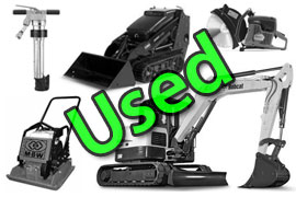 Used equipment for sale at Equipment Rental Source serving Parker Colorado, Sedalia CO, Larkspur, Franktown, Castle Rock CO