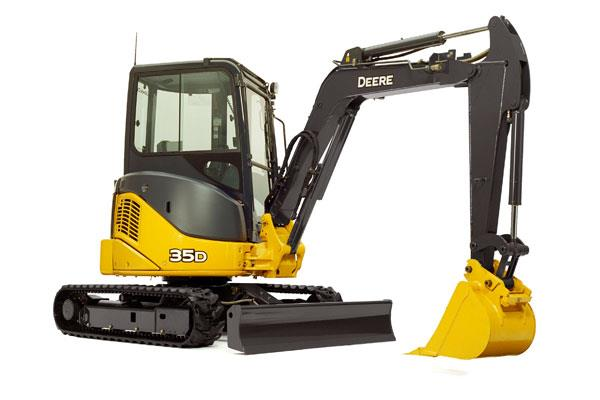 Where to find JD 35G Mini-Excavator in Castle Rock
