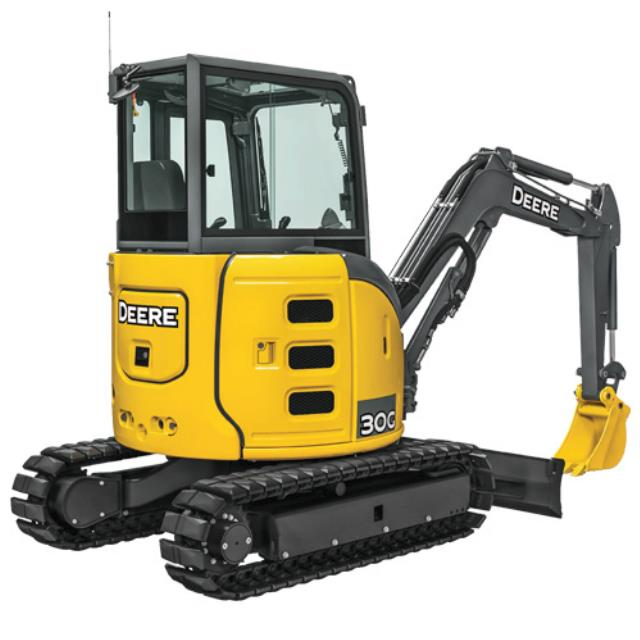 Where to find JD 30G Mini Excavator in Castle Rock