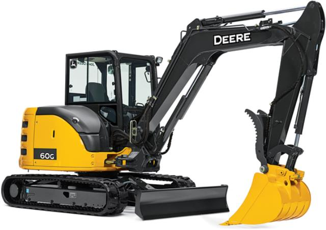 Where to find JD 60G Mini-Excavator in Castle Rock
